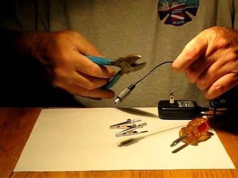 TreasureDigging.com DIY Electrolysis Device