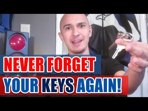 🔥 Never Forget Where You Placed Your Keys | Memory Improvement Tip on How to Find Lost Car Keys