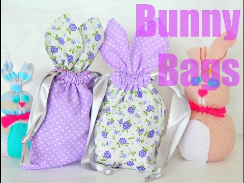 BUNNY BAGS SEWING TUTORIAL