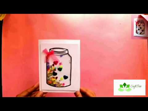 DIY simple and easy Shaker Card tutorial (Part - 2)