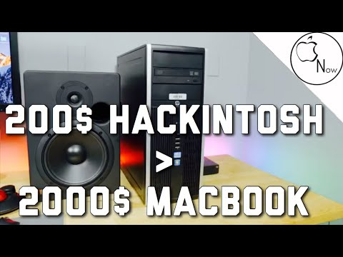 200$ VS 2000$ Macbook: Ultra High Specs Hacintosh! - Hardware Parts!