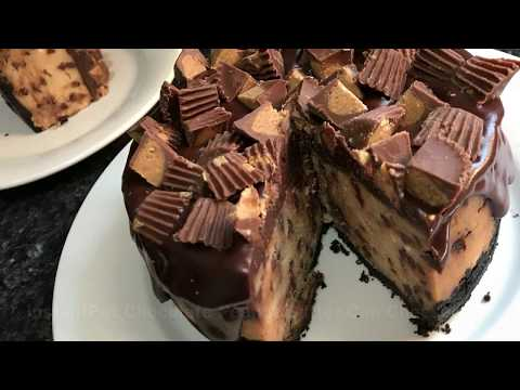 Instant Pot Chocolate Peanut Butter Cup Cheesecake