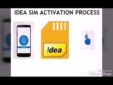 Idea Sim Activation Basic step in Gujarati