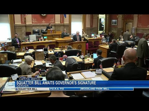 Squatter Bill goes to Governor's Office for signature