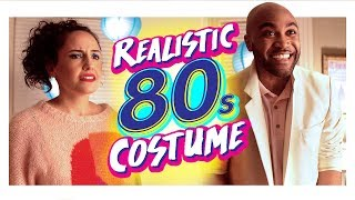 Realistic 80s Costume Party