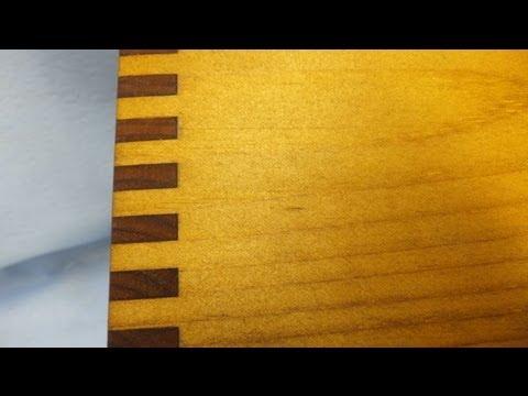 Finishing a Wood Display Box