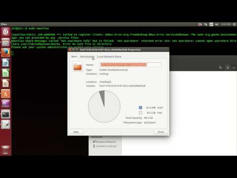 how to give permission in ubuntu system