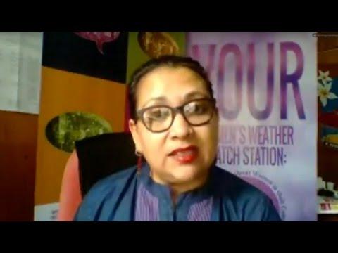 50/50 Day - Sharon Bhagwan Rolls of FemLINKPACIFIC w/ Farai Chideya