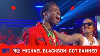 Michael Blackson Goes Super Saiyan on DC Young Fly! 💥 Wild