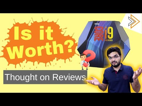 Is it Worth? - Intel Core i9 9900K My Thought in Reviews [in HINDI]