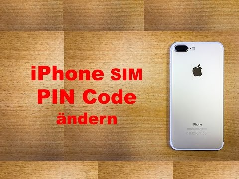 iPhone SIM PIN Code ändern