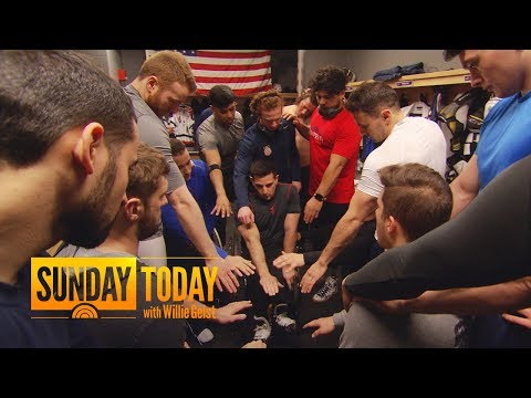 Meet The US Men's Paralympic Sled Hockey Team | Sunday TODAY