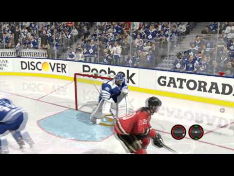 NHL 15 - Goalie Change on the Fly