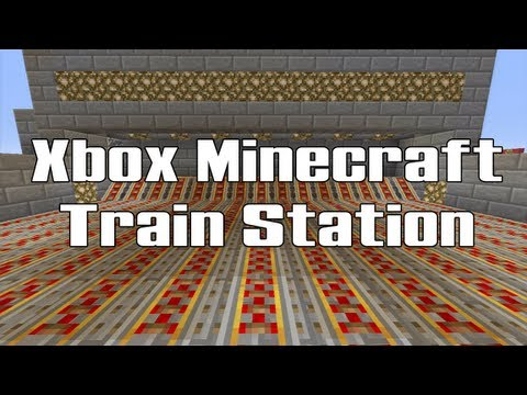 Xbox Minecraft Train Station