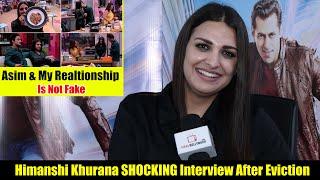 Himanshi Khurana SHOCKING Interview After Eviction | Asim & My Relationship Is Not Fake
