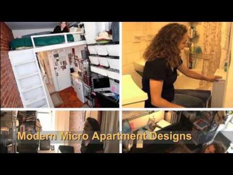 Modern Micro Apartment Designs