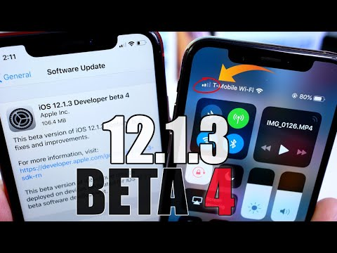 iOS 12.1.3 Beta 4 DEFINITELY a step in the right direction !