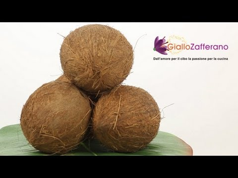 How to open a coconut - cooking tutorial