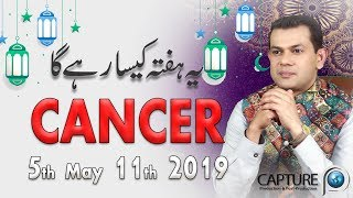Cancer Weekly Horoscope from Sunday 28th April to Saturday