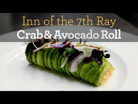 Crab and Avocado Roll - Inside My Kitchen