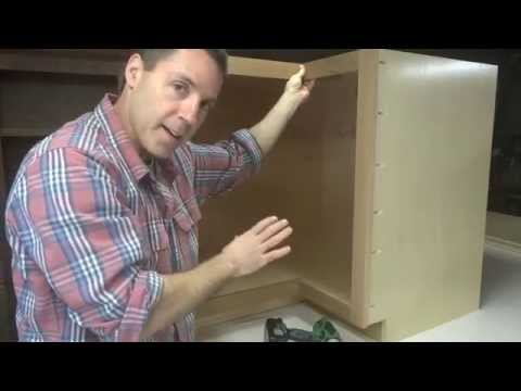 Kitchen Cabinets: Installing The Lazy Susan Hardware