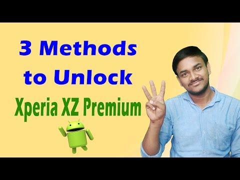 Sony Xperia XZ Premium Hard Reset - How to Unlock when Forgot Password