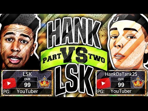 LSK vs HANKDATANK25 • THE REMATCH • DID I GET EXPOSED AGAIN??? - NBA 2K17 MyPARK