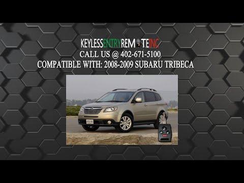 How To Replace Subaru Tribeca Key Fob Battery 2008 2009