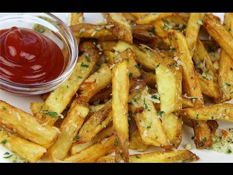 Garlic Parmesan Fries Recipe - CaribbeanPot com