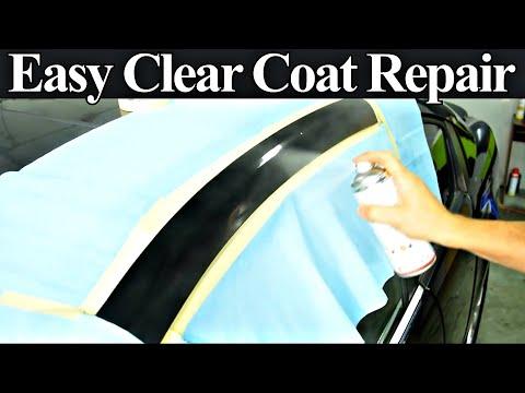 How to Repair Damaged Clear Coat - Auto Body Repair Hacks Revealed