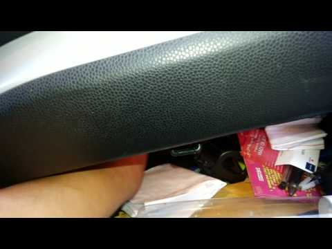 How to change AC filter of KIA Picanto