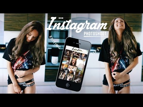 How to: Instagram Photoshoot! Brand Deals, Easy DIY & Editing Tips