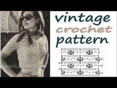 How to crochet a vintage pattern WIKA Crochet LIVE