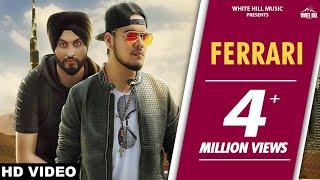 Ferrari (Full Song) | Sukhi Sidhu | Preet Hundal | Latest Punjabi Song 2017 | White Hill Music