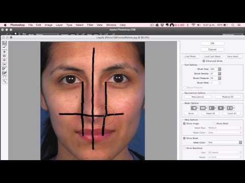 How to Fix a Crooked Nose in Photoshop - NowPhotoshop