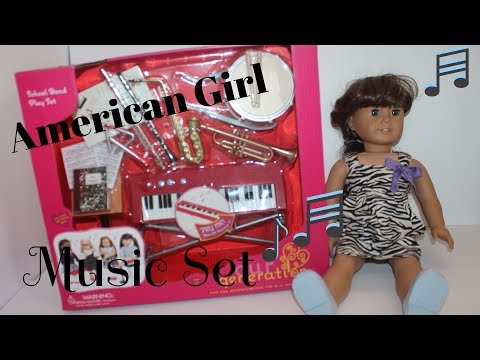 Our Generation School Band Play Set great for American Girl music play