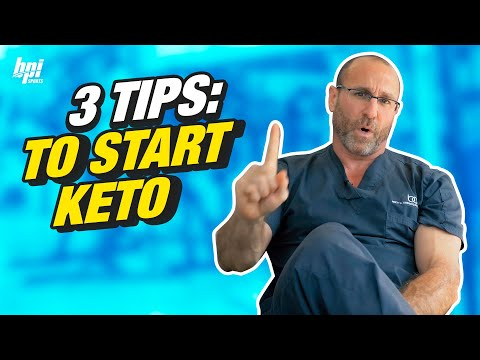 3 Tips to Getting Started on the Ketogenic Diet