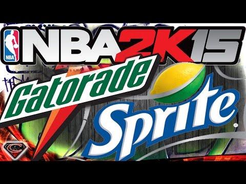 NBA 2K15 XBOX ONE My Career - Gatorade or Sprite