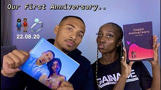 OUR FIRST YEAR ANNIVERSARY 22.08.20 | MEMORABLE GIFTS - 'LOVE BOOK' | RuthAndReece - HD Available!!!