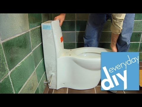 How to Install a Toilet -- Buildipedia DIY