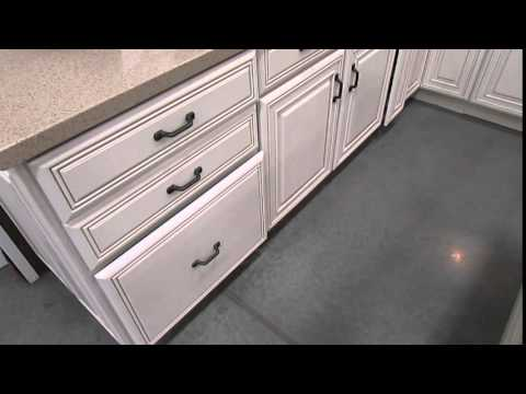 Drawer operation from cabinet at Lowes