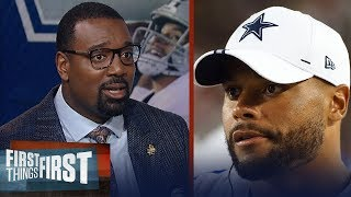 Cowboys need Dak Prescott to win a title - Chris Canty   NFL   FIRST THINGS FIRST