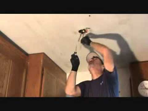 Tips on removing an existing light fixture junction box