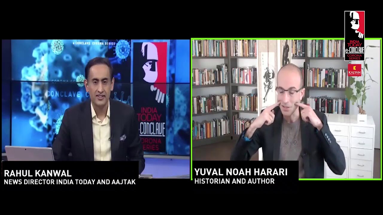 Yuval Noah Harari On Globalisation, Privacy & Religion Post-Coronavirus World
