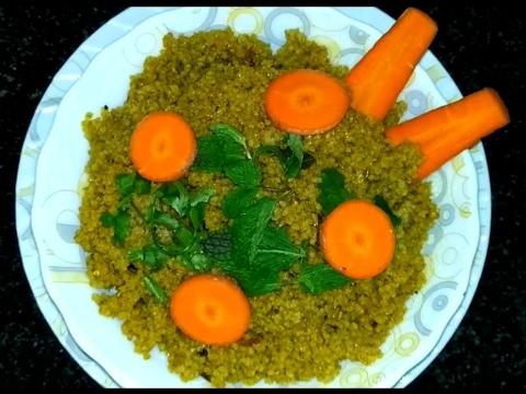 Varagu Rice Biryani - Kodo millet rice biryani - சிறு தானிய உணவு வகைகள்
