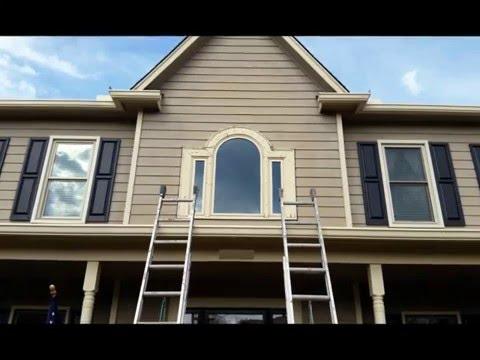 half round window trim install customer
