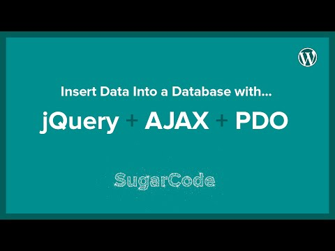 Insert data into a database with jQuery + AJAX + PDO