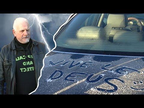 La voiture de Didier a été Taguée par des gamins... (HUMOUR)