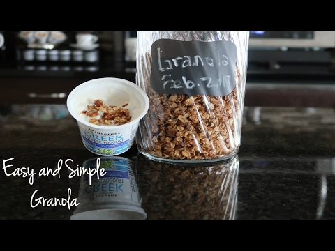 Easy and Simple Granola