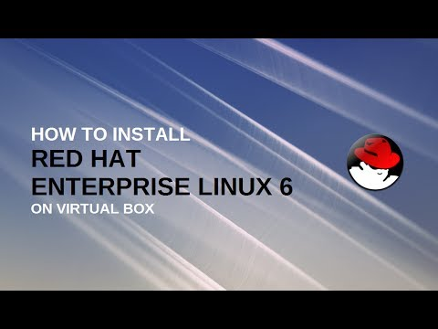 How to install redhat linux 6 on virtual box | RHEL6 on VirtualBox